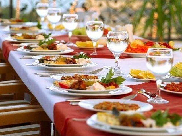 Ramazan'da susatmayan yiyecekler nelerdir?