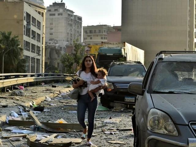 Beyrut'tan Çarpıcı Görüntüler