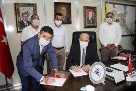 Bayburt Belediyesi'nde Toplu İş Sözleşmesi İmzalandı