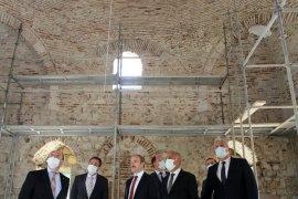 Tarihi Akkoyunlu Mirasında Çalışmalar Yıl Sonu Tamamlanacak