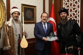 Kültür Ve Turızm Müdürlüğü Heyeti Vali Ali Hamza Pehlivan'I Ziyaret Etti