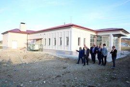 Vali Cüneyt Epcim Demirözü ve Gökçedere'de incelemede bulundu