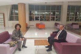 Rektör Coşkun'dan Kız Yurdu ve Kütüphaneye Akşam Ziyareti