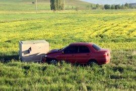 Trafik Kazasında 4 Kişilik Aile Yaralandı