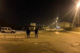 Bayburt'ta Gece Kartalları'nın  Zorlu Kış Mesaisi