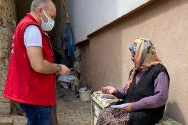 Bayburt'ta Tam Kapanma Sosyal Yardım Ödemelerine Başlandı