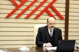 Rektör Coşkun, Online Sertifika Programına Katıldı