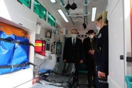 Bayburt'ta Tam Donanımlı 5 Yeni Ambulans Hizmete Girdi