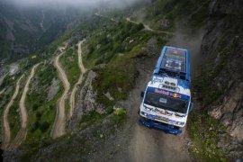 D915 Trabzon-Bayburt Yolunda Meydan Okuma Nefes Kesti
