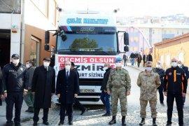 Bayburt'tan İzmir'e Yardım Eli