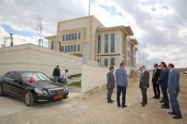 Vali Epcim, 112 Acil Çağrı Merkezinde incelemelerde bulundu