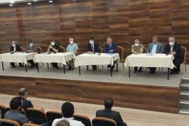 2021/2022 Eğitim Öğretim Yılı İl Güvenlik Toplantısı Yapıldı