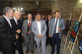 Türksav Türk Dünyası Karma Resim Sergisi Açıldı