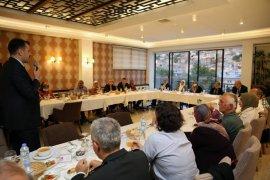 Şehit Aileleri ve Gaziler Onuruna Yemek Düzenlendi