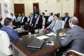 Demirözü Barajı Sulama Kanalı İle Arazi Toplulaştırma Çalışmaları Masaya Yatırıldı