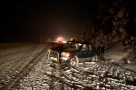 Zigana Dağı'nda Kar Ulaşımı Aksattı