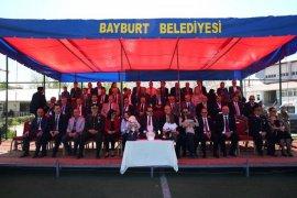 Bayburt'ta 19 Mayıs'ın 100. Yılı Coşkuyla Kutlandı