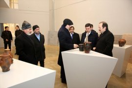 3 İlin Valisi Baksı Müzesi'ni Gezdi