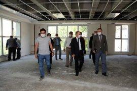 Yeni Halk Eğitim Merkezi'nde Çalışmalar Devam Ediyor