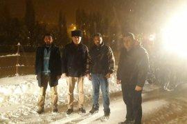 Bayburt Belediyesi'nden Kar Mesaisi