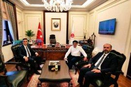 Rektör Türkmen, Ankara'da Bir Dizi Ziyaretlerde Bulundu
