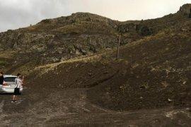 Heyelan Nedeniyle Kapanan Erzurum-Bayburt Kara Yolu Ulaşıma Açıldı