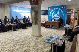 Vali Cüneyt Epcim, Bayburt Ülkü Ocakları'na Ziyarette Bulundu