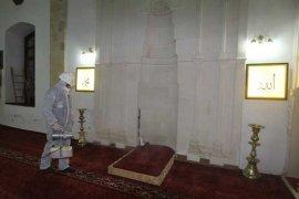 Bayburt'ta Camilerde İlaçlandı