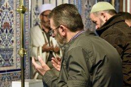 Vatandaşlar Barış Pınarı Harekâtına destek için camilerde buluştu
