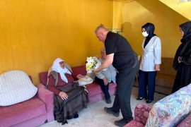 Bayburt'ta Şehit Aileleri ve Yaşlılar Unutulmadı