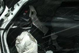 Araklı Bayburt Yolunda Trafik Kazası