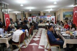 Bayburt'ta Yaşayan Göçmenler Yemekte Bir Araya Geldi