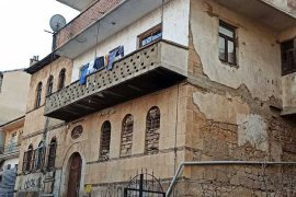 Bayburt'ta Tarihi Binada Yangın Çıktı