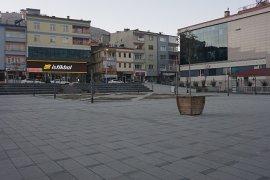 Bayburt'ta Cadde ve Sokaklar Sessizliğe Büründü