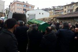 Bayburt'ta öldürülen Zehra Erdemir, son yolculuğuna uğurlandı