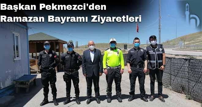 Başkan Pekmezci'den Ramazan Bayramı Ziyaretleri