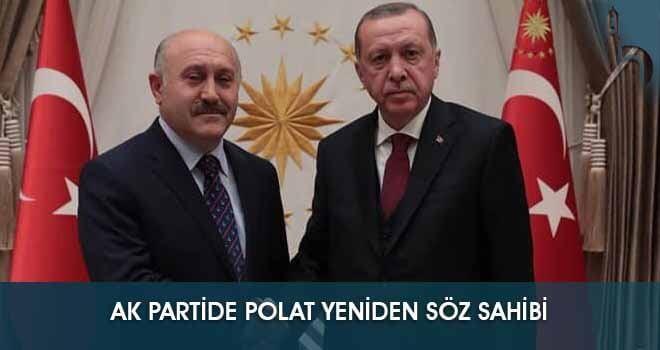 """Ak Partide """"Polat"""" Yeniden Söz Sahibi"""