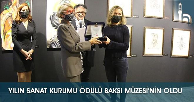 Yılın Sanat Kurumu Ödülü Baksı Müzesi'nin Oldu