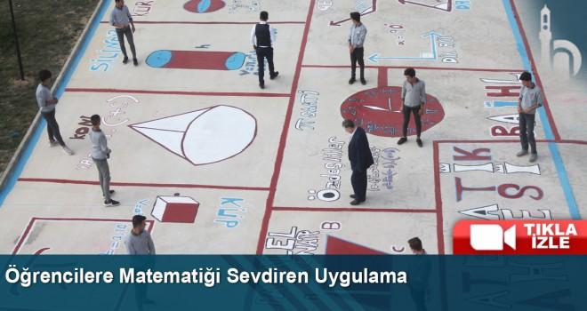Öğrencilere matematiği sevdiren uygulama