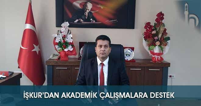 İşkur'dan Akademik Çalışmalara Destek