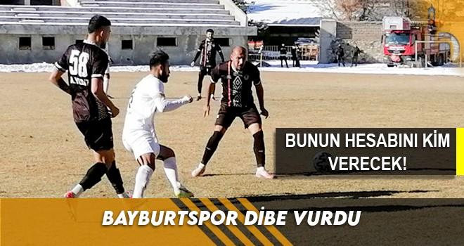 Bayburtspor Dibe Vurdu