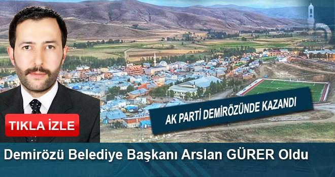 Bayburt Demirözü AK Parti Adayı Arslan Gürer Kazandı