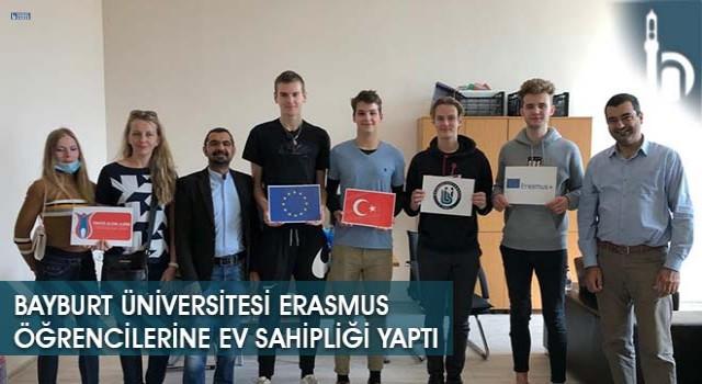 Bayburt Üniversitesi Erasmus Öğrencilerine Ev Sahipliği Yaptı