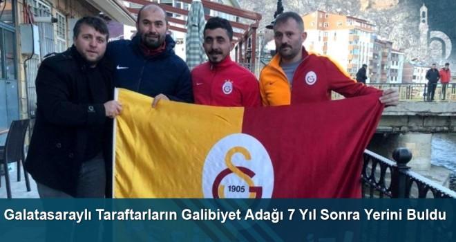 Galatasaraylı Taraftarların Galibiyet Adağı 7 Yıl Sonra Yerini Buldu