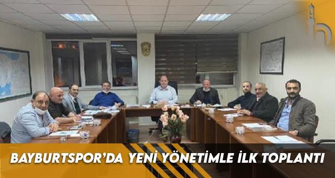 Bayburtspor'da Yeni Yönetimle İlk Toplantı