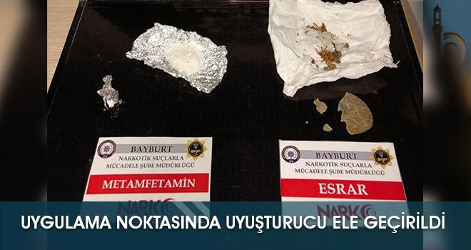 Uygulama Noktasında Uyuşturucu Ele Geçirildi