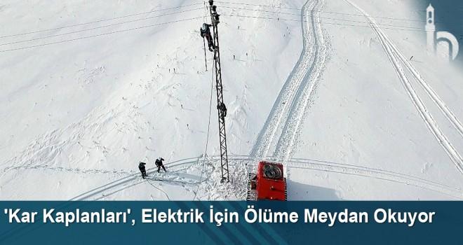 'Kar Kaplanları', köyleri elektriksiz bırakmamak için ölüme meydan okuyor