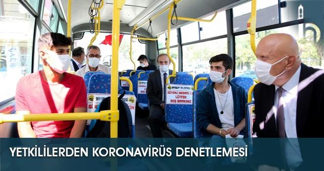 Yetkililerden Koronavirüs Denetlemesi