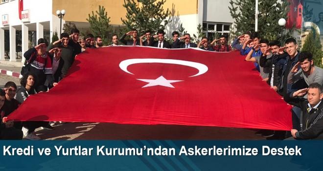 Barış Pınarı Harekâtına asker selamı ile destek verdiler