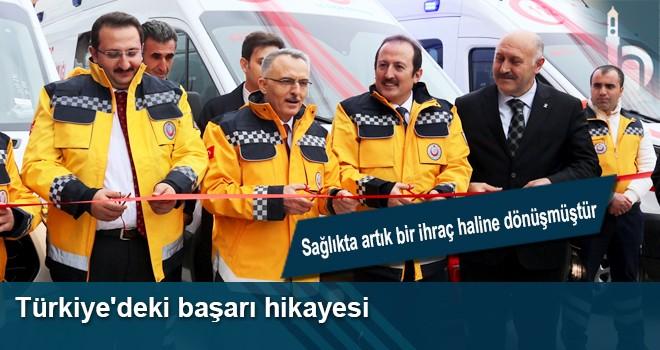 Türkiye'deki Başarı Hikayesi, Sağlıkta Artık Bir İhraç Haline Dönüşmüştür.